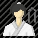 avatar, karate, martial arts, sports icon