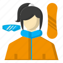 avatar, goggles, snowboarding, sports