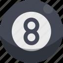 billiard, sport, ball, play, pool icon