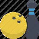 bowling, sport, ball, game, play, sports, tenpin icon
