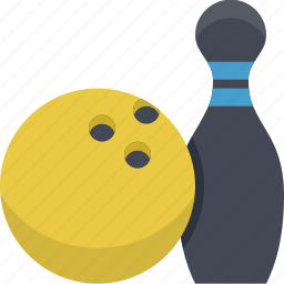ball, bowling, game, play, sport, sports, tenpin icon