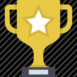 achievement, best, gold, trophy, win, winner, winning icon