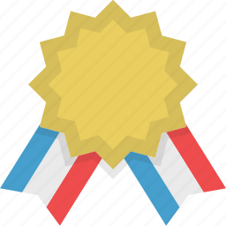 achievement, award, badge, medal, reward, sport, win icon