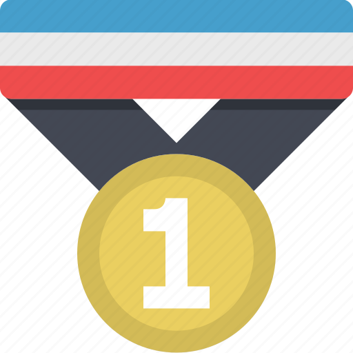 badge, best, first place, medal, reward, win, winner icon