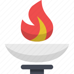 athens, athletics, olympic fire, olympics, torch icon