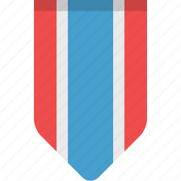 bookmark, bookmarks, flag, rank, ribbon, stripes icon