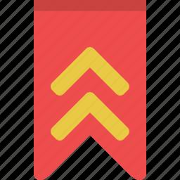 achievement, award, bookmark, favorite, rank, reward, ribbon icon
