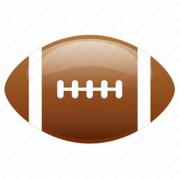american, american football, ball, football, glossy, sports icon