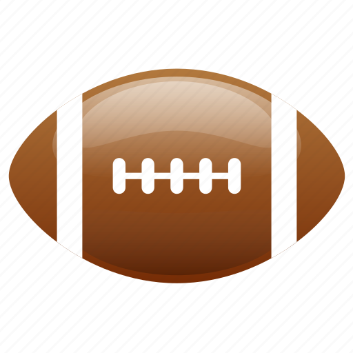 American, american football, ball, football, glossy, sports icon - Download on Iconfinder