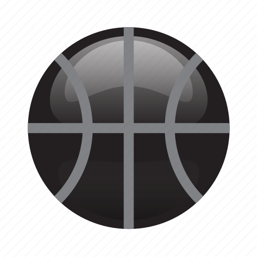 Ball, basketball, glossy, sports icon - Download on Iconfinder