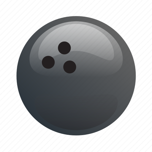ball, bowling, bowling ball, glossy, sports icon