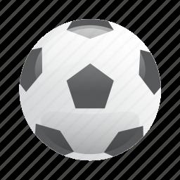 ball, football, futbal, glossy, soccer, soccer ball, sports icon