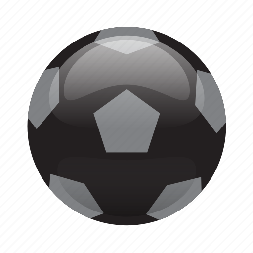 Ball, football, futbal, glossy, soccer, sports icon - Download on Iconfinder