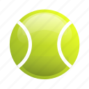 ball, glossy, sports, tennis, tennis ball icon