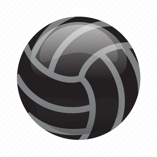 Ball, glossy, sports, volleyball, waterpolo icon | Icon ...
