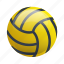 ball, glossy, sports, water, water sports, waterpolo icon