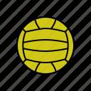 ball, polo, polo ball, water ball, water polo icon