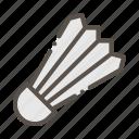 badminton, ball, shuttlecock, sport