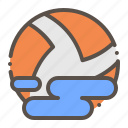 ball, game, polo, sport, water icon
