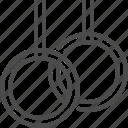 branch, gymnastics, loops, olympics, sport icon
