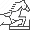 competition, equestrian, horse, jump, race, riding, sport icon