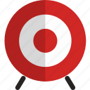 archery, arrow, target icon