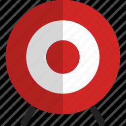archery, arrow, target icon