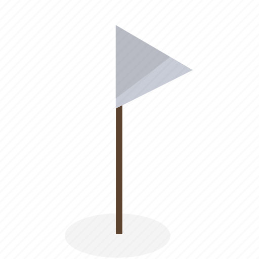 flag, golf, hole icon