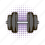 barbell, dumbbell, fitness, health, iron, muscle, strength icon