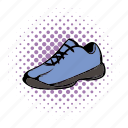 casual, comics, rubber, running, shoes, sneakers, walking icon