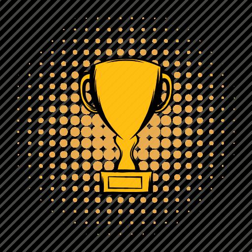 achievement, award, best, championship, comics, cup, prize icon