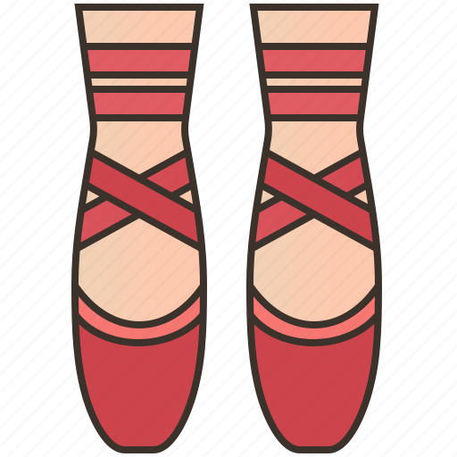Ballerina, ballet, dancing, exercise, shoes icon - Download on Iconfinder