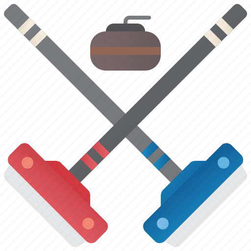Brush, curling, ice, sport, stone icon - Download on Iconfinder
