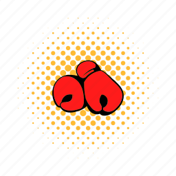 boxing, comics, competition, fight, glove, sport, vpunch icon