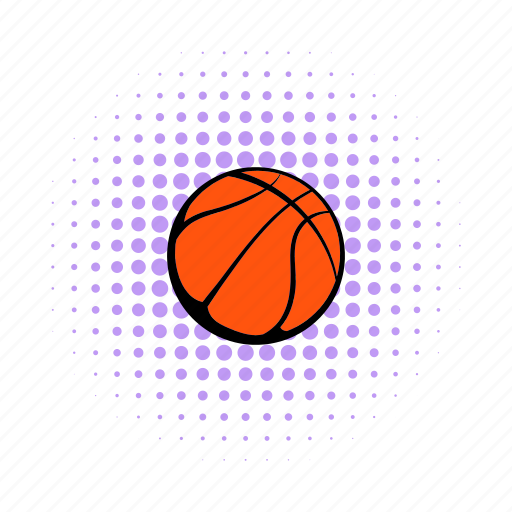 ball, basketball, comics, competition, professional, sport, team icon