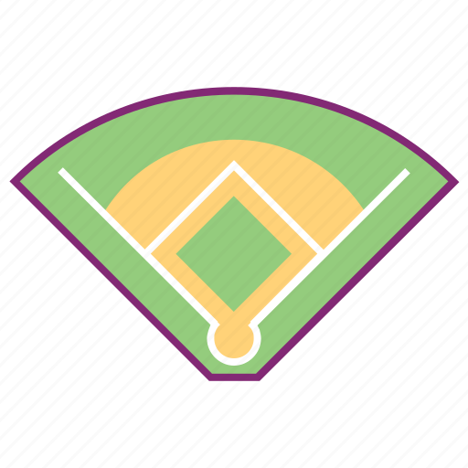 baseball, court, equipment, field, softball, sport, sports icon