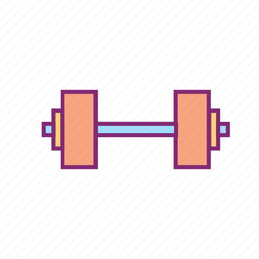 dumbbell, equipment, fitness, gym, sports, workout icon