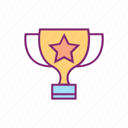champion, olympic, silverware, sports, trophy, winner icon