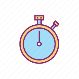 clock, equipment, olympic, sports, stopwatch, tournament icon