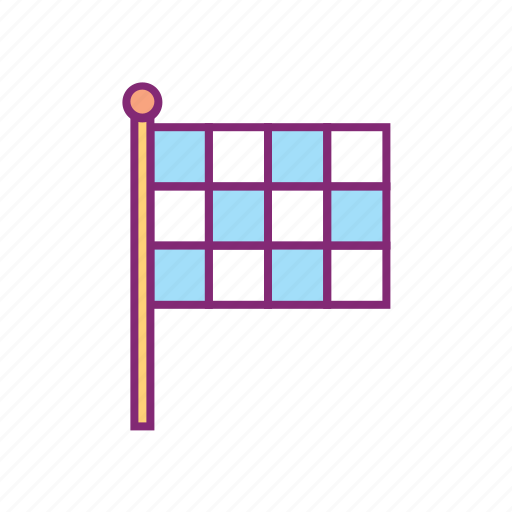chequered, finish, flag, olympic, race, sports, start icon