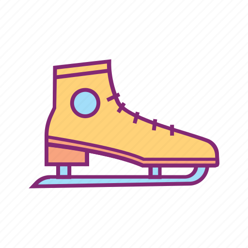 equipment, gear, ice skating, shoes, skate, sport, sports icon