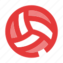 ball, beach, game, sport, sports, volley, volleyball icon