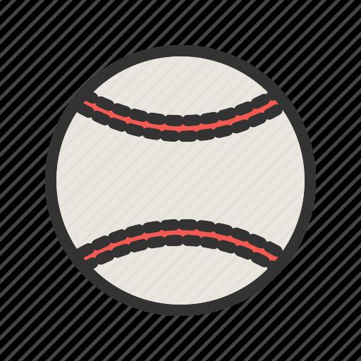 ball, baseball, game, match, play, softball, sports icon