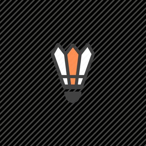 badminton, birdie, shuttercock, shuttle, shuttle birdie, shuttlecock icon