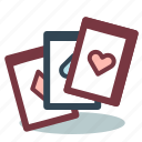 cards, playing card, poker, poker game, sports, squeezer icon