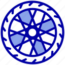 auto, car, part, tire, transport, vehicle, wheel icon