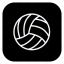 ball, bolleyball, game, healthcare, soccer, sport, sports icon
