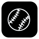 ball, baseball, game, gym, healthcare, sport, sports icon