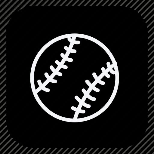 ball, baseball, game, gym, healthcare, sport, sports icon