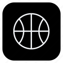ball, basketball, game, gym, healthcare, sport, sports icon